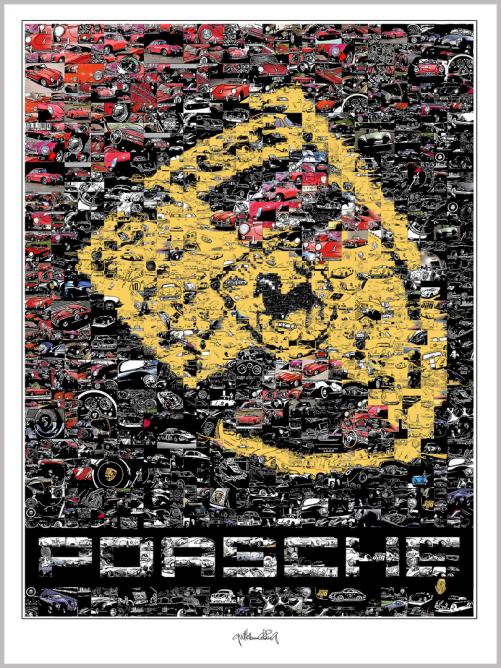 Zeitgemäße Porsche-Kunst