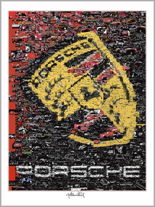 Spannende, zeitgemäße Porsche-Kunst
