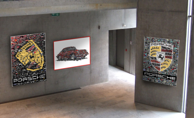 Porsche-Kunst für IHREN Porsche-Club