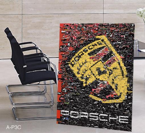 Zeitgemäße Porsche-Kunst für IHR Büro